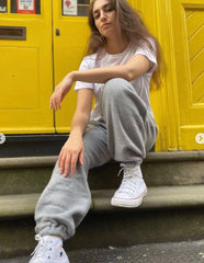 Josephine Joggers and Embroidered T-Shirt   Beatrice Bayliss