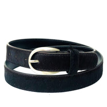 Load image into Gallery viewer, Cowhide Belt - Black