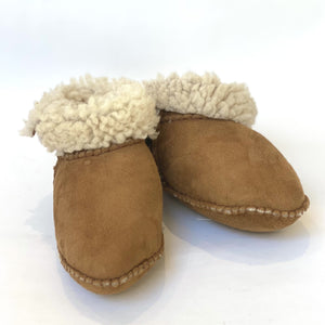 Sheepskin Baby Booties - Age Approx 9 - 18 Months