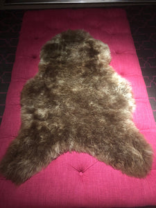 Icelandic Sheepskin Rug - Shaved - Brown