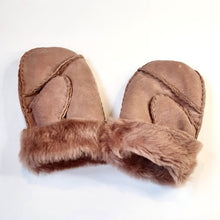 Load image into Gallery viewer, Sheepskin Mittens - Age 3-5