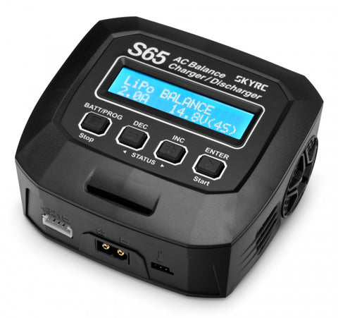 SkyRC S65 Charger 240VAC 65W 6A (2S-4S)