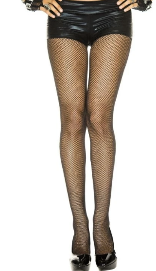 """I Put A Spell On You"" Classic Fishnet Tights"