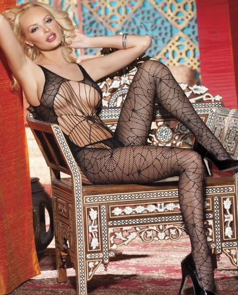 Spiderweb Bodystocking