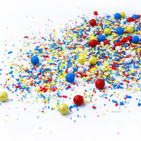 Crash! Boom! Pow! Sprinkle Mix