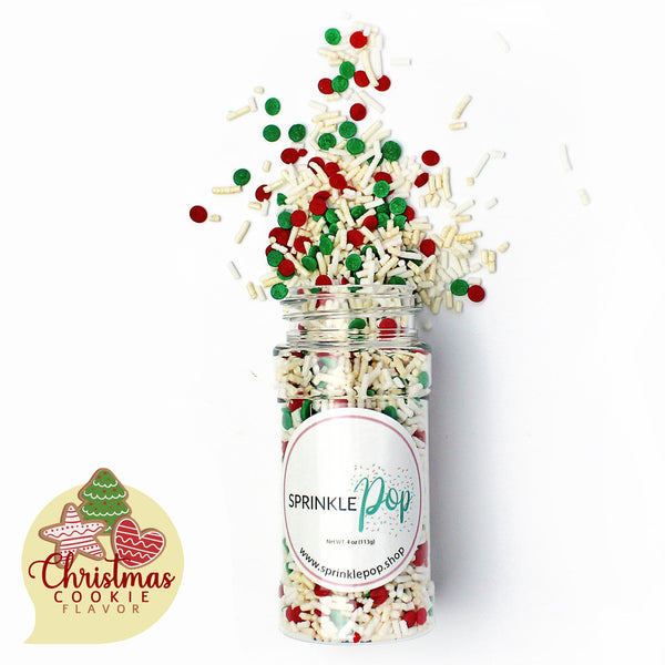 Christmas Cookie Flavored Sprinkles