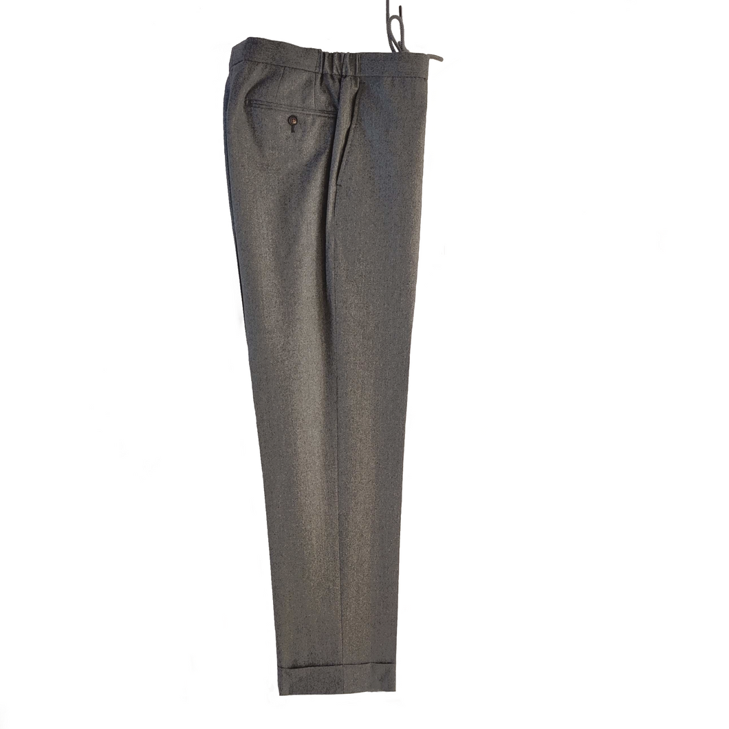 M4O Drawstring Trouser - Grey Flannel