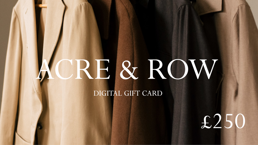 £250 Digital Gift Card
