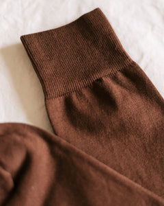 Socks - Chocolate Brown