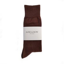Load image into Gallery viewer, Socks - Chocolate Brown