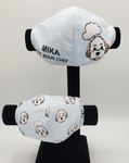 Mika the Sous Chef Cool Fabric Mask Adult Size