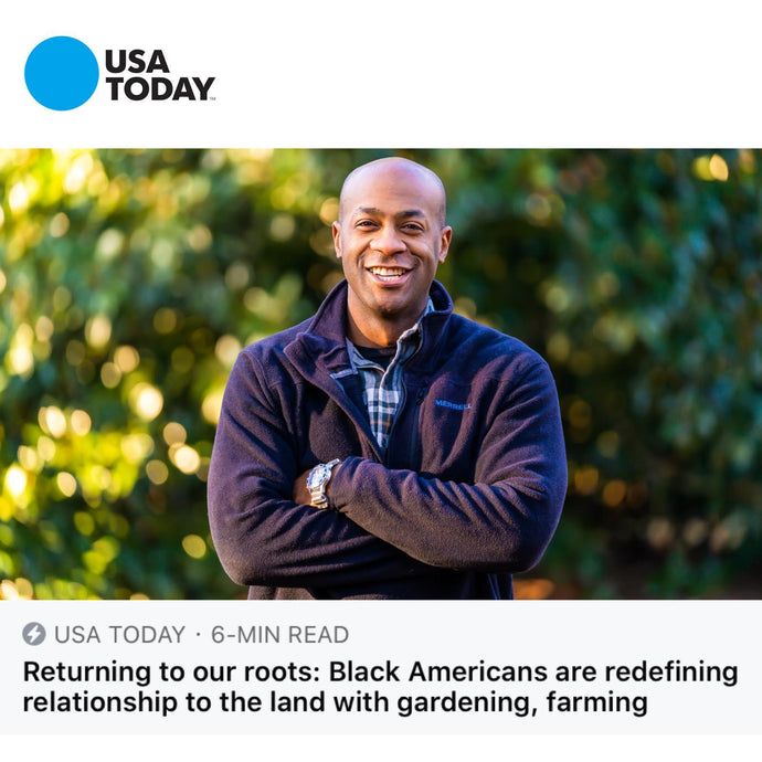 Grass Grazed USA Today Feature