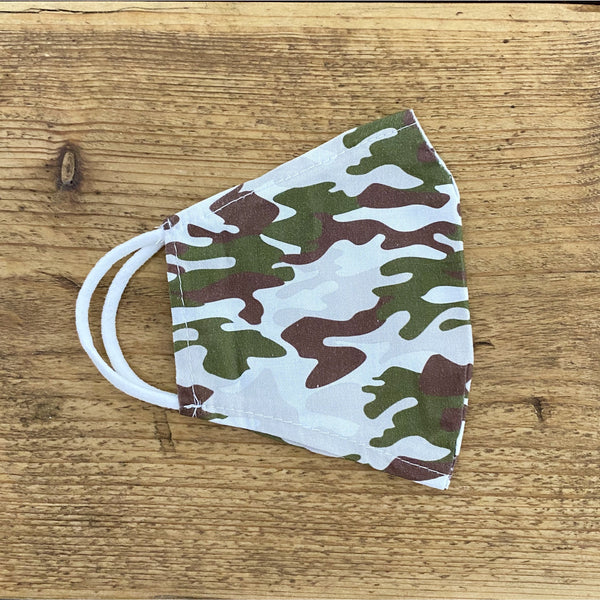 Camouflage Reusable Face Covering