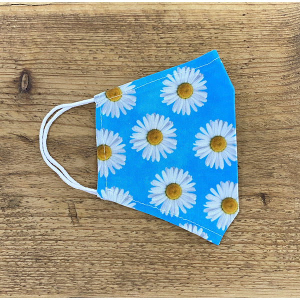 Daisy Blossoms Reusable Face Covering