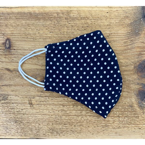 Polka Dot Reusable Face Covering