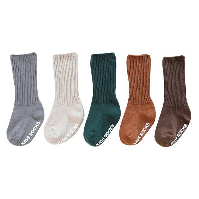 Knee High Anti Slip Socks