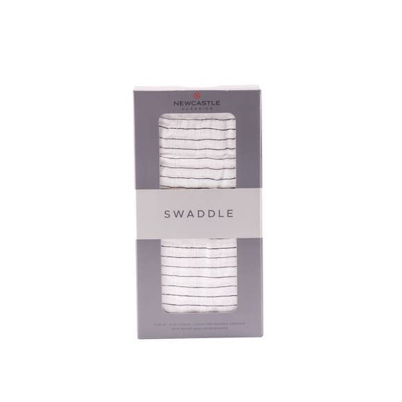 Pencil Stripe Swaddle