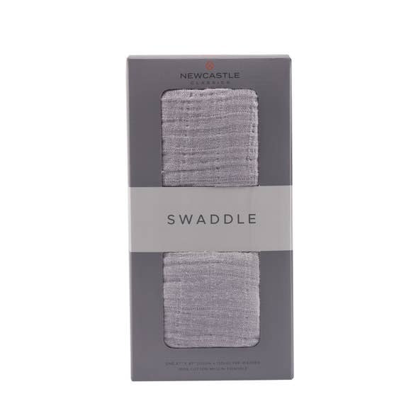 Cool Grey Swaddle