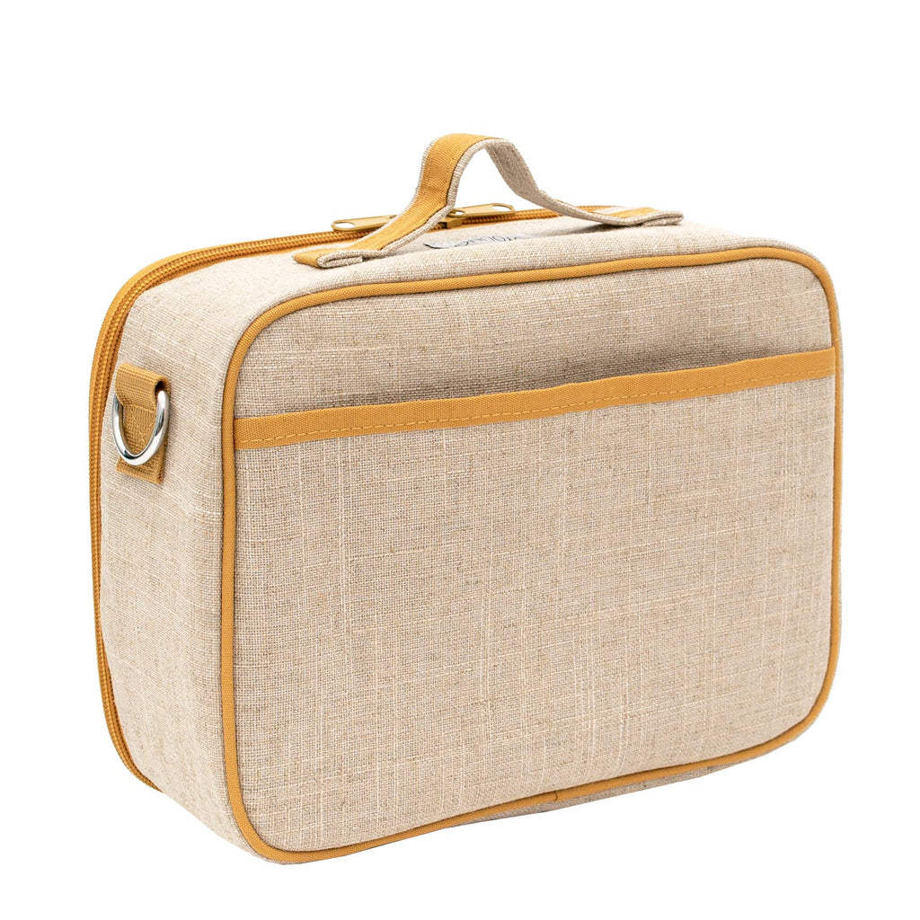 SoYoung Raw Linen Lunch Box - Wee Gallery Pups