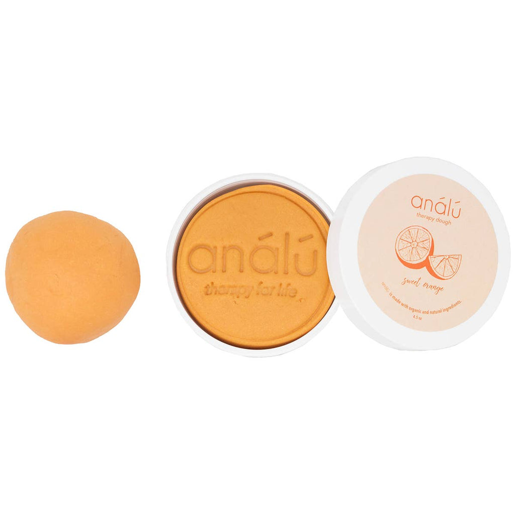 eco-kids - análú sweet orange therapy dough