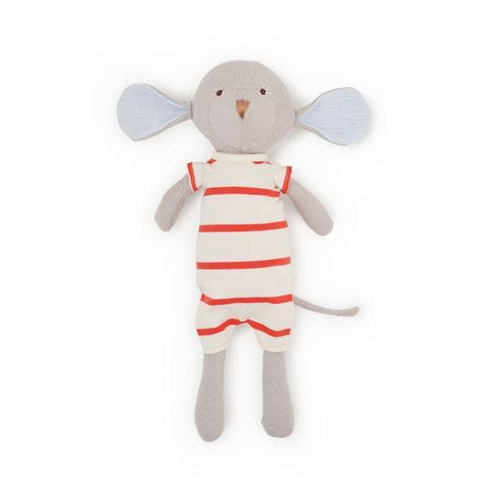 Hazel Village - Oliver Mouse in Cozy Lodge Romper