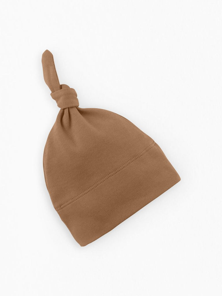 Organic Cotton Classic Knotted Hat - Ginger