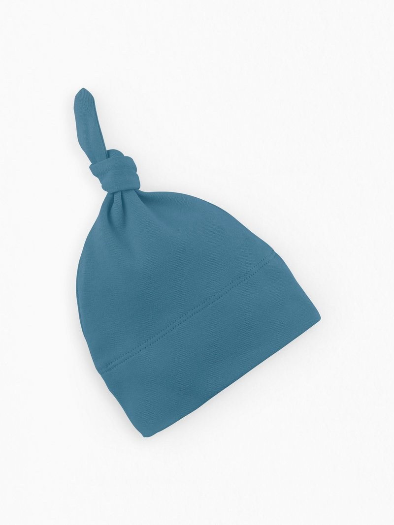 Organic Cotton Classic Knotted Hat - Mediterranean