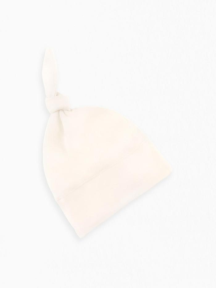 Organic Cotton Classic Knotted Hat - Natural