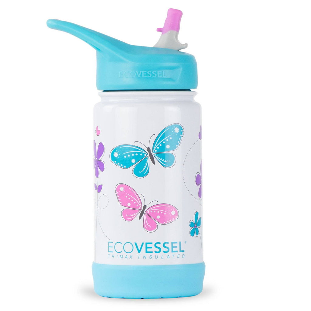 Frost 12oz Insulated Stainless Steel Kids Bottle - Butterfly