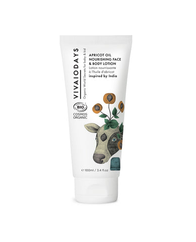 VIVAIODAYS - Apricot Oil Nourishing Face & Body Lotion