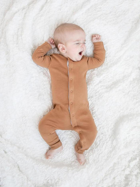 Organic Cotton Emerson Sleeper - Ginger