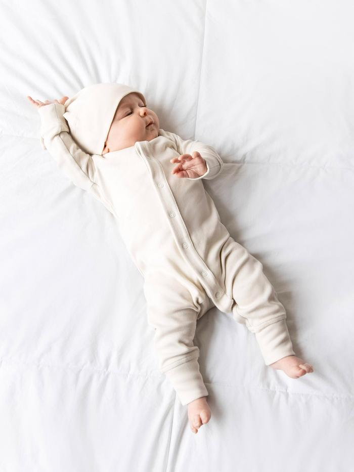 Organic Cotton Emerson Sleeper - Natural