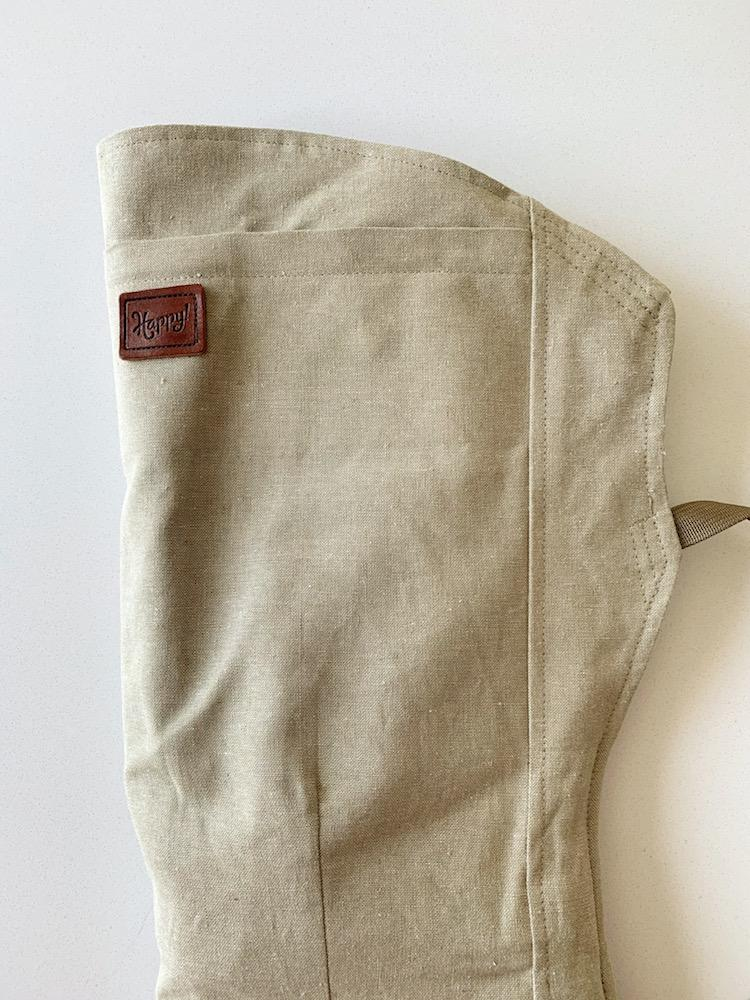 Happy Baby Linen Carrier - Nettle with Desert Tan