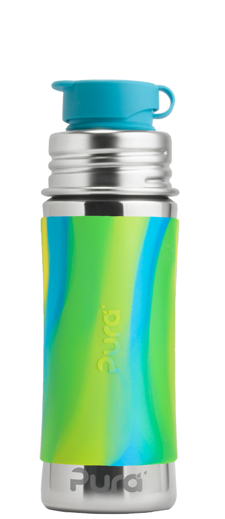 Pura Kiki Sport Mini Bottle with Swirl Sleeve