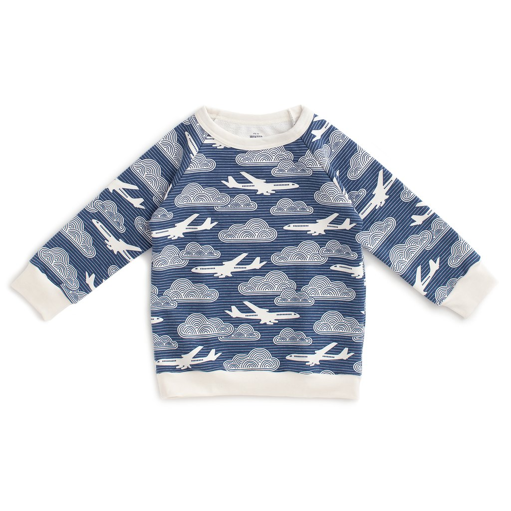 Winter Water Factory Sweatshirt - In the Clouds Navy