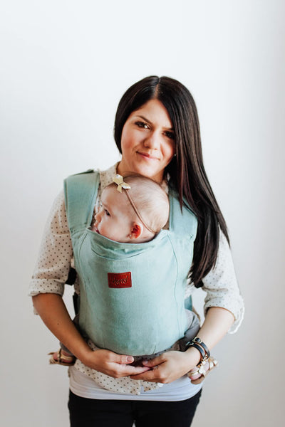 Happy Baby Linen Carrier - Agave
