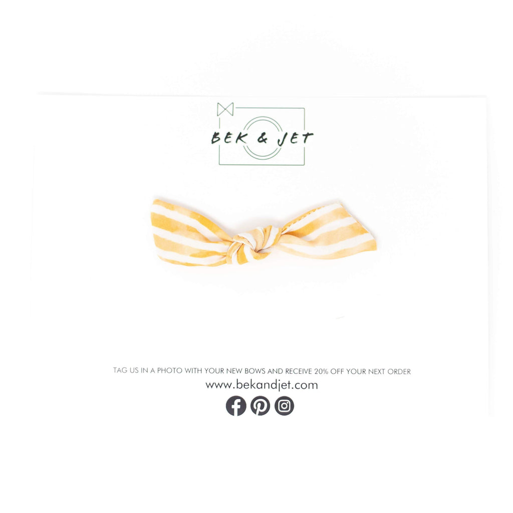 Sunkissed Propeller Bow Headband