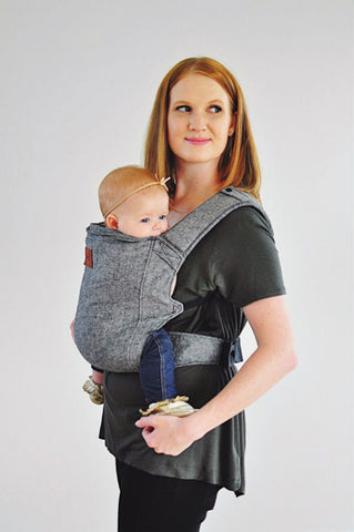 Happy Baby Linen Carrier - Charcoal