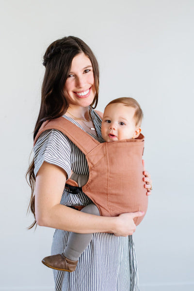 Happy Baby Linen Carrier - Clay