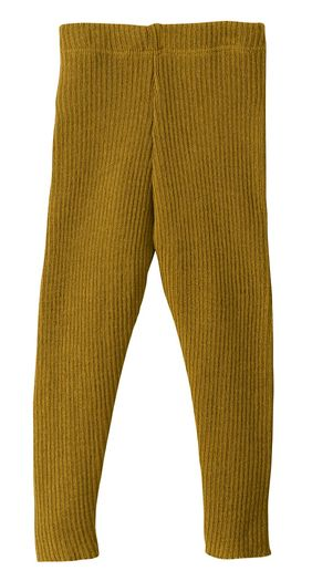 Disana Knitted Organic Woolen Leggings - Gold