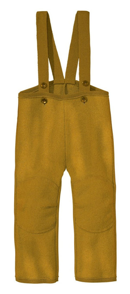 Disana Boiled Wool Overalls - Gold