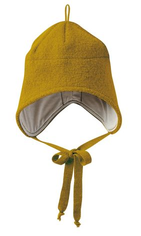 Disana Boiled Wool Hat - Gold