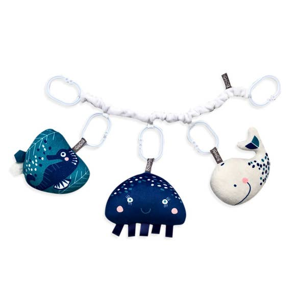 Whale Playbar & Stroller Toy Set