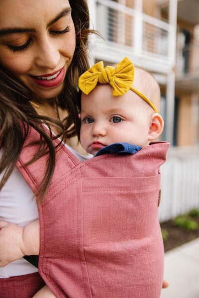 Happy Baby Linen Carrier - Marsala