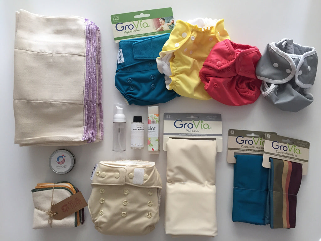 Newborn Cloth Diaper Starter Pack