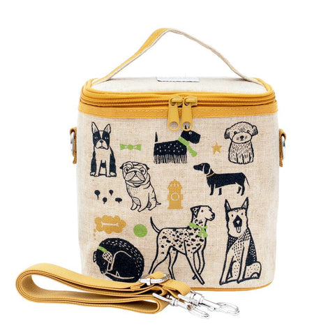 SoYoung Raw Linen Small Cooler Bag - Wee Gallery Pups