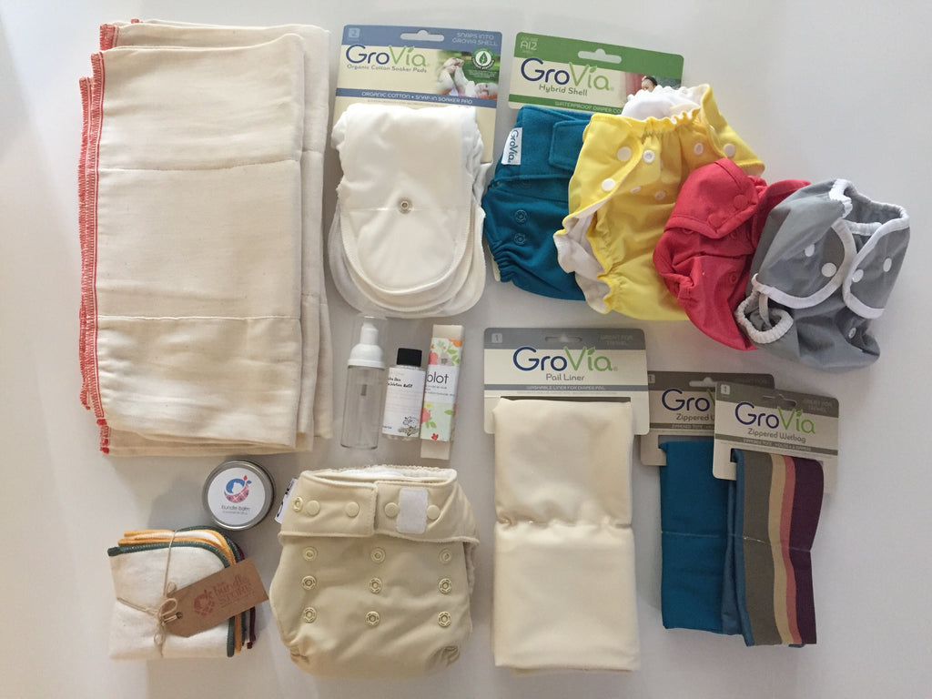 Infant to Toddler Cloth Diaper Starter Pack