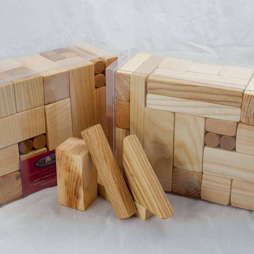 40 Piece Wooden Block Set