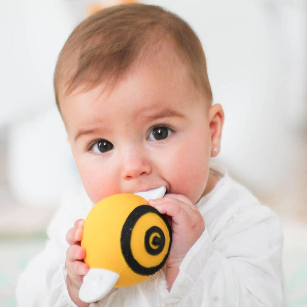 Pic the Bee Natural Rubber Teether