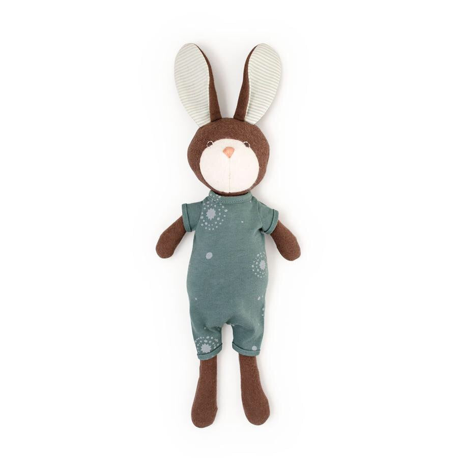 Hazel Village - Lucas Rabbit in Firefly Romper